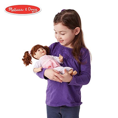 [From USA]Melissa  & Doug Mine to Love Brianna 12-Inch Soft-Body Baby Doll