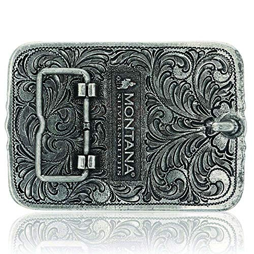 (FROM USA) Montana Silversmiths Antiqued Longhorn Attitude Buckle