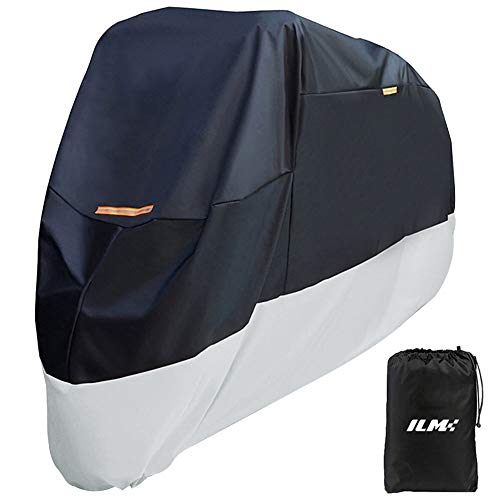 [From USA]Motorcycle Cover Heavy Duty 210D Oxford Waterproof Sunblock Dustproo