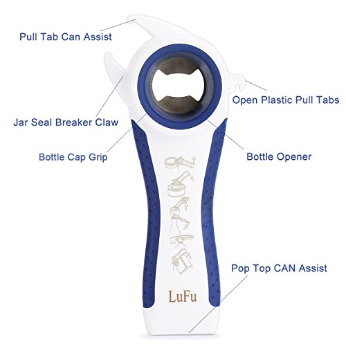From USA Multi-Function Professional 6 in 1 LUFU Bottle Opener. Being Effort-S