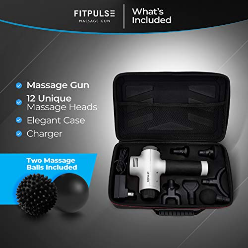 From USA Muscle Massage Gun for Athletes - Percussion Massager Deep Tissue Mas