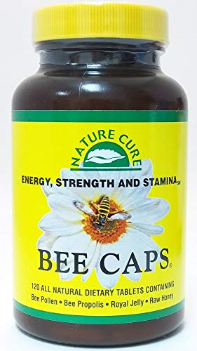 (FROM USA) Nature Cure Bee Caps Nature Cure Bee 120 Caplet