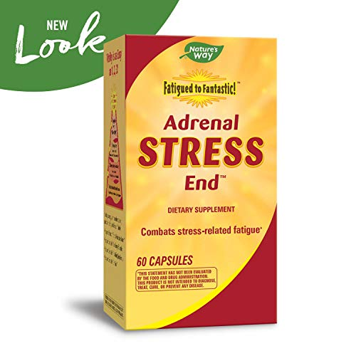 "(FROM USA) Nature's Way Fatigued to Fantastic! Adrenal Stress Endâ""¢, 60 Count"