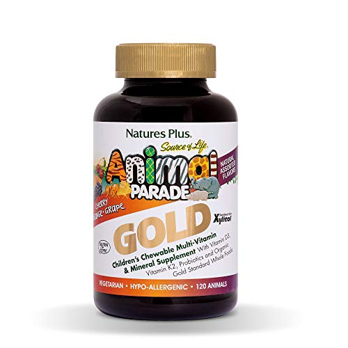 (FROM USA) NaturesPlus Animal Parade Source of Life Gold Children's Multivitam