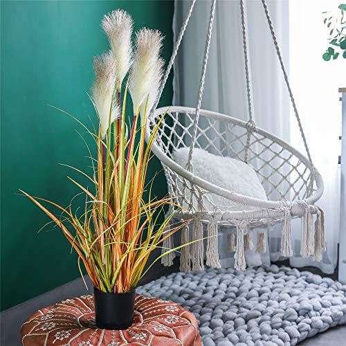 "(FROM USA) NCYP 35.4 "" Tall Artificial Plants for Home Decor Indoor Natur"