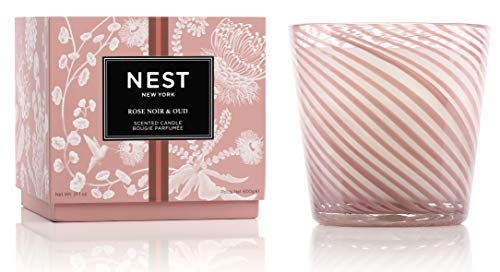 (FROM USA) NEST Fragrances Rose Noir  & Oud Special Edition 3-Wick Candle