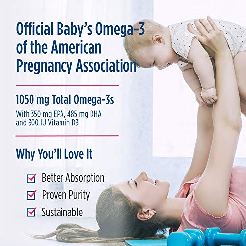 (FROM USA) Nordic Naturals Baby's DHA, Unflavored - 1050 mg Omega-3 + 300 IU