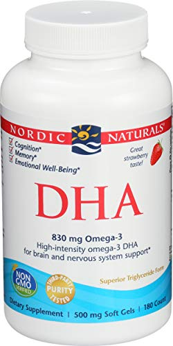 (FROM USA) Nordic Naturals DHA Omega-3 - Brain and Nervous System Support Supp