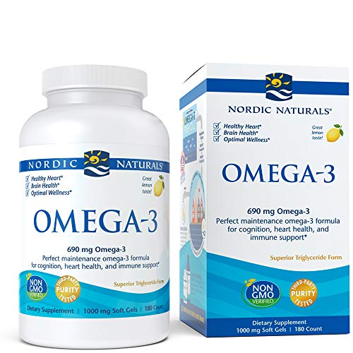 [From USA] Nordic Naturals - Omega-3 Cognition Heart Health and Immune Support