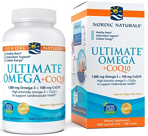(FROM USA) Nordic Naturals - Ultimate Omega+CoQ10, Support for the Heart + Cir