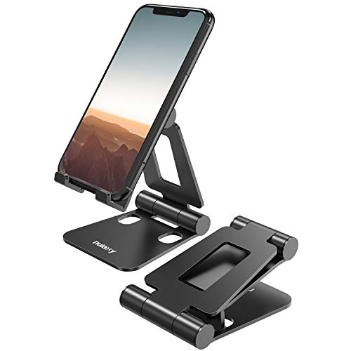 From USA Nulaxy A4 Cell Phone Stand, Fully Foldable, Adjustable Desktop Phone