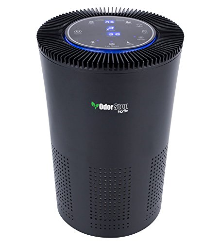 From USA OdorStop HEPA Air Purifier with H13 HEPA Filter, Active Carbon, Multi