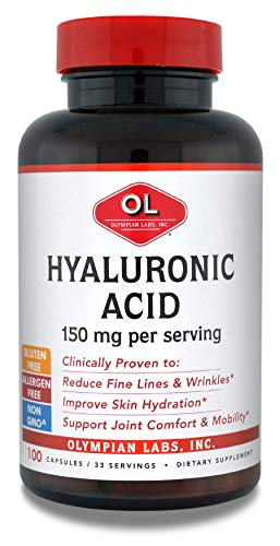 (FROM USA) Olympian Labs Hyaluronic Acid 150 mg per serving
