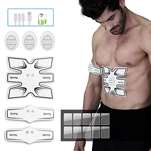(FROM USA) OSITO Abs Stimulator Muscle Toner Abdominal Muscle Training Gear Po