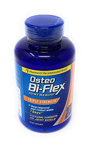 (FROM USA) Osteo Bi-Flex 1,500mg (200 Count) Glucosamine HCl Tablets, 1 Pack,