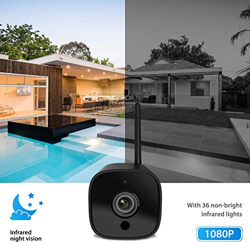 From USA Outdoor Security Camera, 1080P WiFi Camera Wireless Surveillance Came