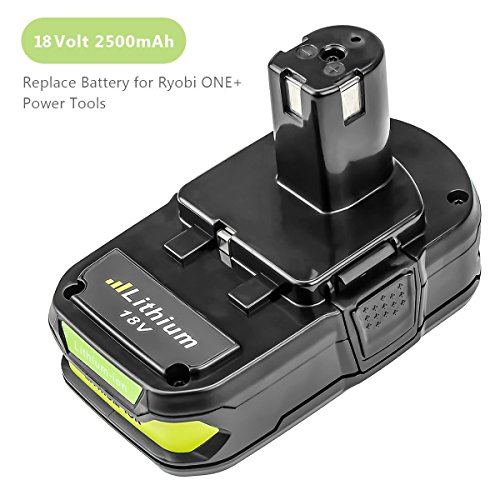 From USA P102 2500mAh Replacement for Ryobi 18V Lithium Ion Battery P104 P105