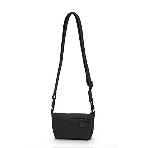 (FROM USA) Pacsafe Citysafe Cs25 Anti-Theft Cross-Body and Hip Purse, Black, O