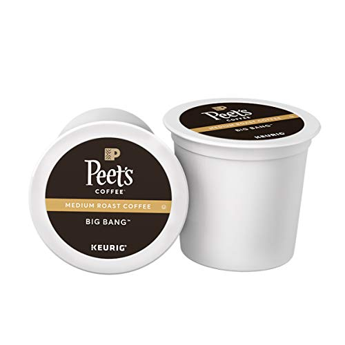 (FROM USA) Peet's Coffee Big Bang K-Cup Coffee Pods for Keurig Brewers, Medi
