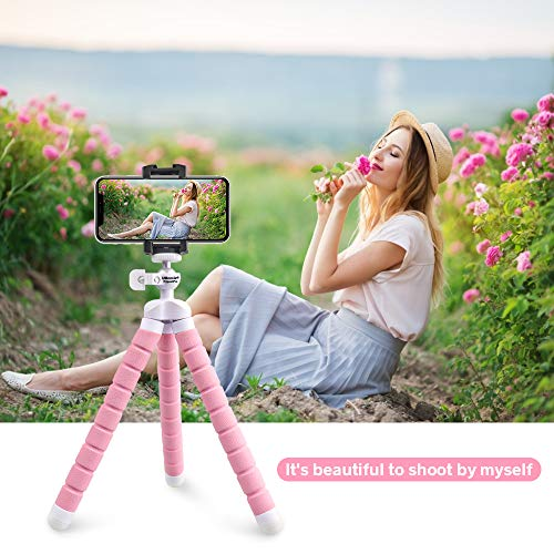 From USA Phone Tripod, UBeesize Portable and Adjustable Camera Stand Holder wi