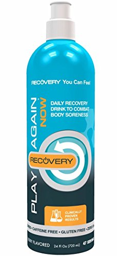(FROM USA) Play Again Now Hyaluronic Acid  & MSM Daily Recovery Drink Suppleme