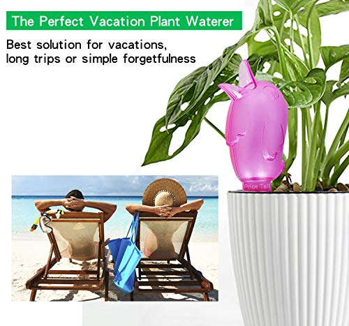 From USA Pricetail Self Watering Spike Planter Drip Irrigation Watering Spikes
