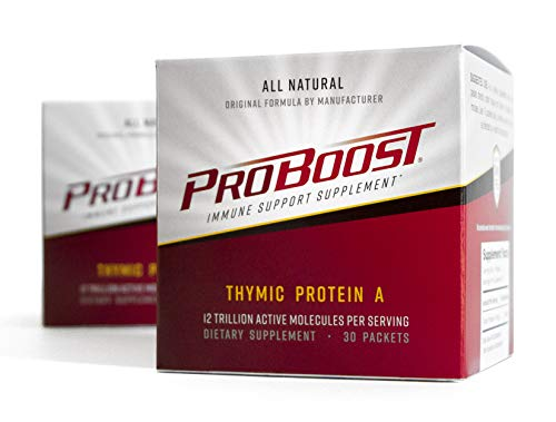 (FROM USA) ProBoost, Thymic Protein A (TPA), 60 Packets with 4 mcg TPA/Packet