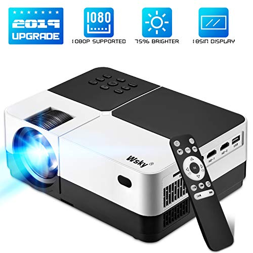 [From USA]Projector 1080P and 176 Display Outdoor Video Projector Supported