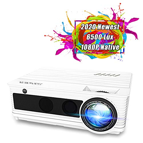 From USA Projector, YABER Native 1080P Movie Projector with 6500 Lumens 78,000