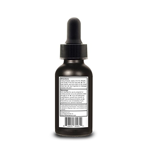From USA Propidren by Hairgenics Hair Growth Serum with Powerful DHT Blockers