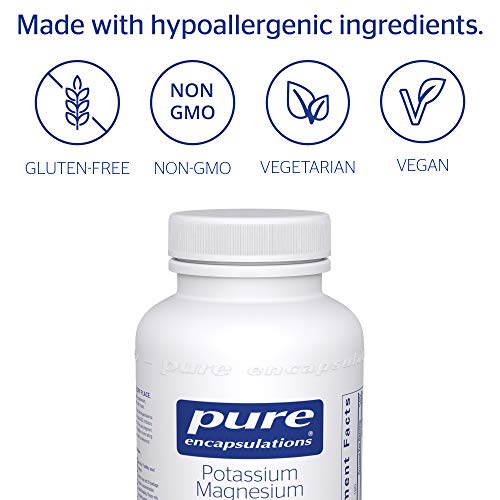 (FROM USA) Pure Encapsulations - Potassium Magnesium (Citrate) - Hypoallergeni