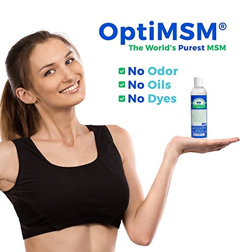 (FROM USA) Purified OptiMSM in Odor-Free Quick Absorbing Gel (8 oz)