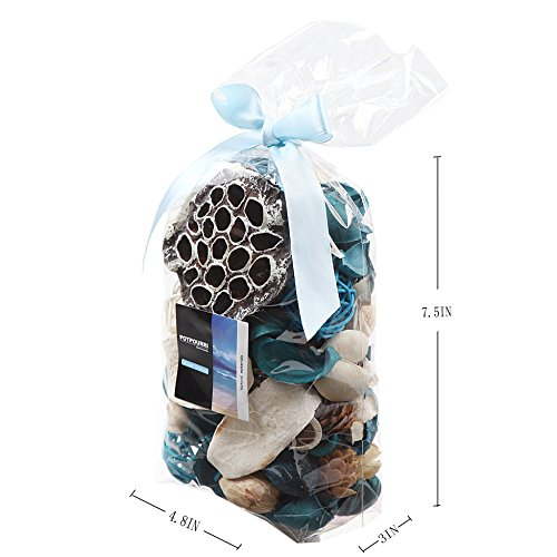 (FROM USA) Qingbei Rina Gift Ocean Scent Potpourri Dried Flower Bag Home Decor