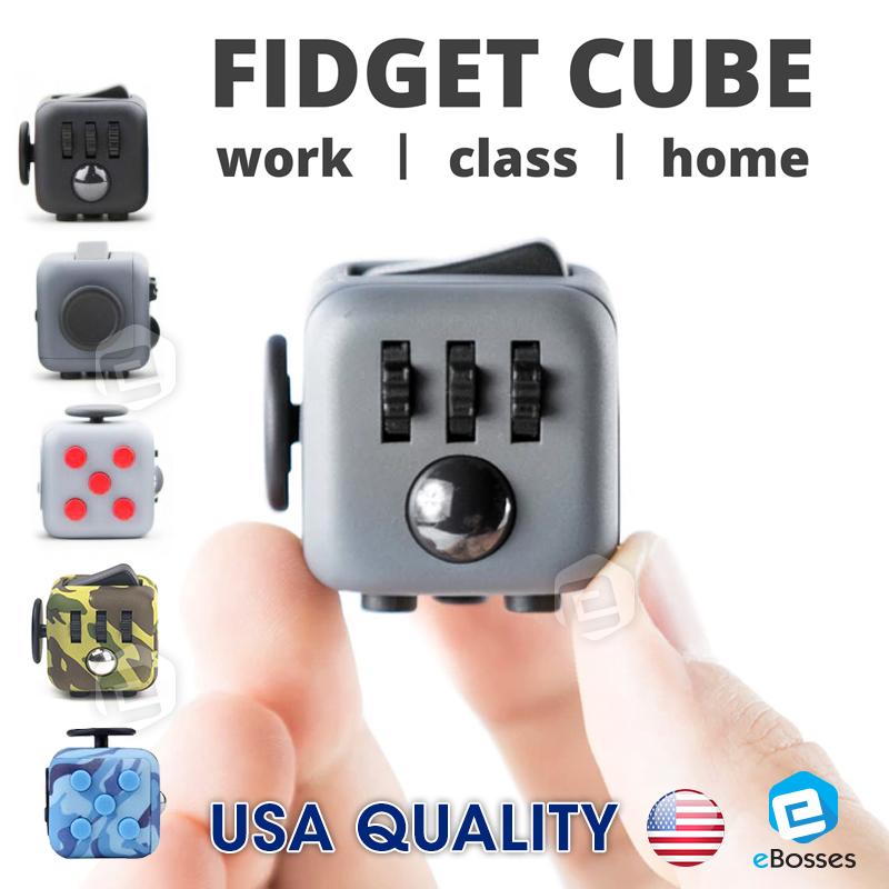 USA Quality Fidget Cube Stress Reliever Magic Cube