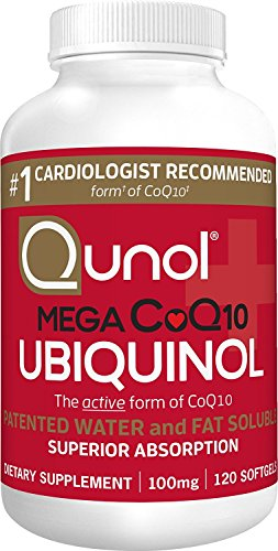 (FROM USA) Qunol Mega Ubiquinol CoQ10 100mg, Superior Absorption, Patented Wat