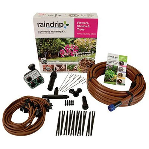 From USA Raindrip SDFSTH1P Drip Kit, Black