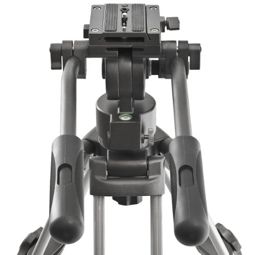 From USA Ravelli AVTP Professional 65mm Video Camera Tripod with Fluid Drag He