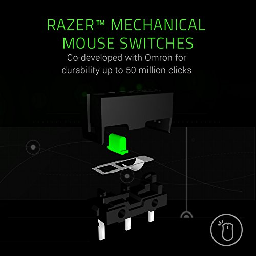 From USA Razer Mamba Elite Wired Gaming Mouse: 16,000 DPI Optical Sensor - Chr