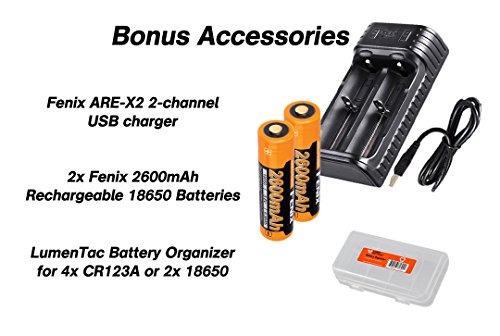 ..../ From USA/ Rechargeable Bundle: Fenix PD35 TAC (PD35 Tactical) XP-L 1000