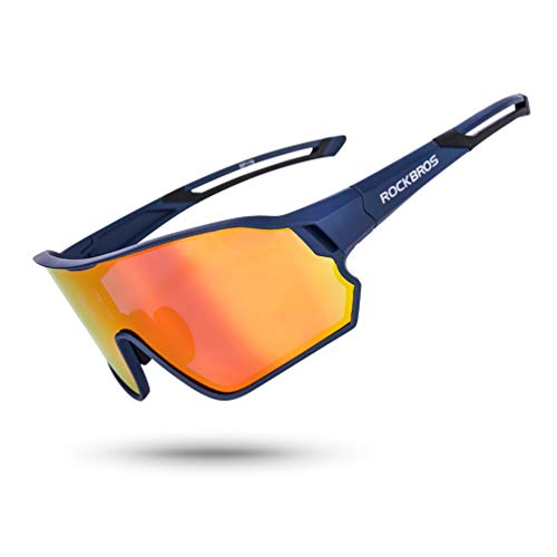 From USA ROCK BROS Polarized Sunglasses UV Protection for Women Men Cycling Su