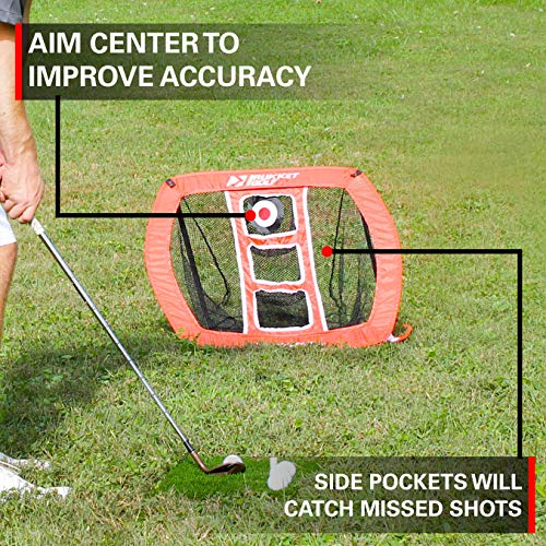 From USA Rukket Pop Up Golf Chipping Net | Outdoor/Indoor Golfing Target Acces