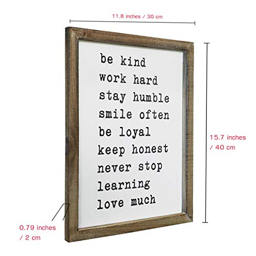 (FROM USA) SANY DAYO HOME Wall Decor Signs with Inspirational Sayings 16 x 12