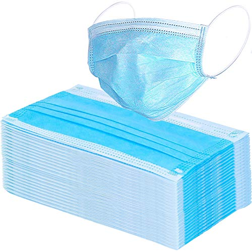 [USA Shipping]100 Pack Surgical Disposable Face Masks with Elastic Ear Loop 3
