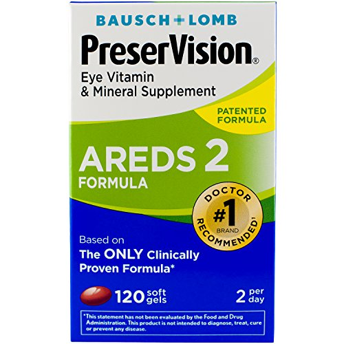 [USA shipping]Bausch + Lomb PreserVision AREDS 2 Eye Vitamin  & Mineral Su