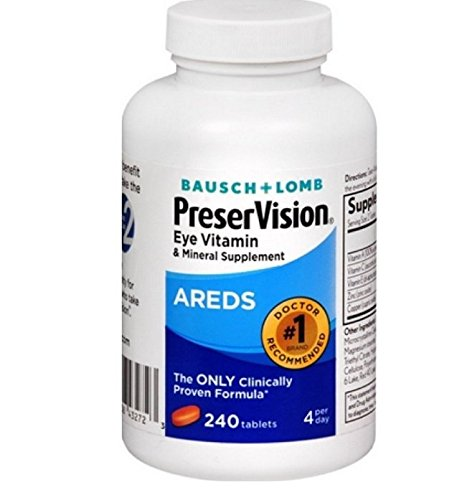 [USA shipping]Bausch + Lomb PreserVision AREDS Eye Vitamin  & Mineral Supp