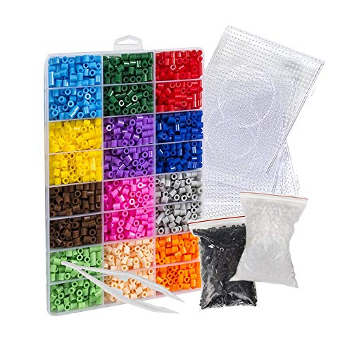 [USA Shipping]Evoretro Pixel Beads Art Kit – 6800 Colorful Fuse Beads to Unl