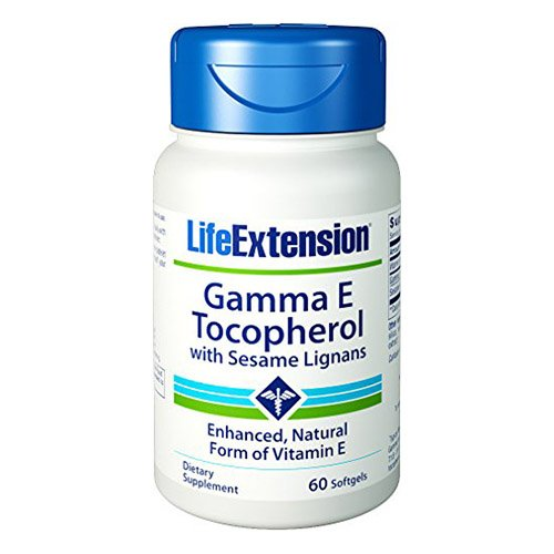 [USA shipping]Life Extension Gamma E Tocopherol/Tocotrienol Soft Gels 60 Count
