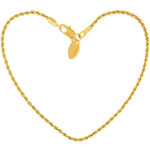 [USA Shipping]Lifetime Jewelry Anklets for Women Men and Teen Girls - 24K Gold
