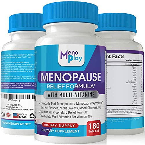 [USA shipping]MenoPlay: Menopause Support & Hormone Balance Supplement fo