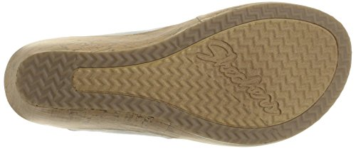 From USA Skechers Cali Women's Beverlee Smitten Kitten Wedge Sandal